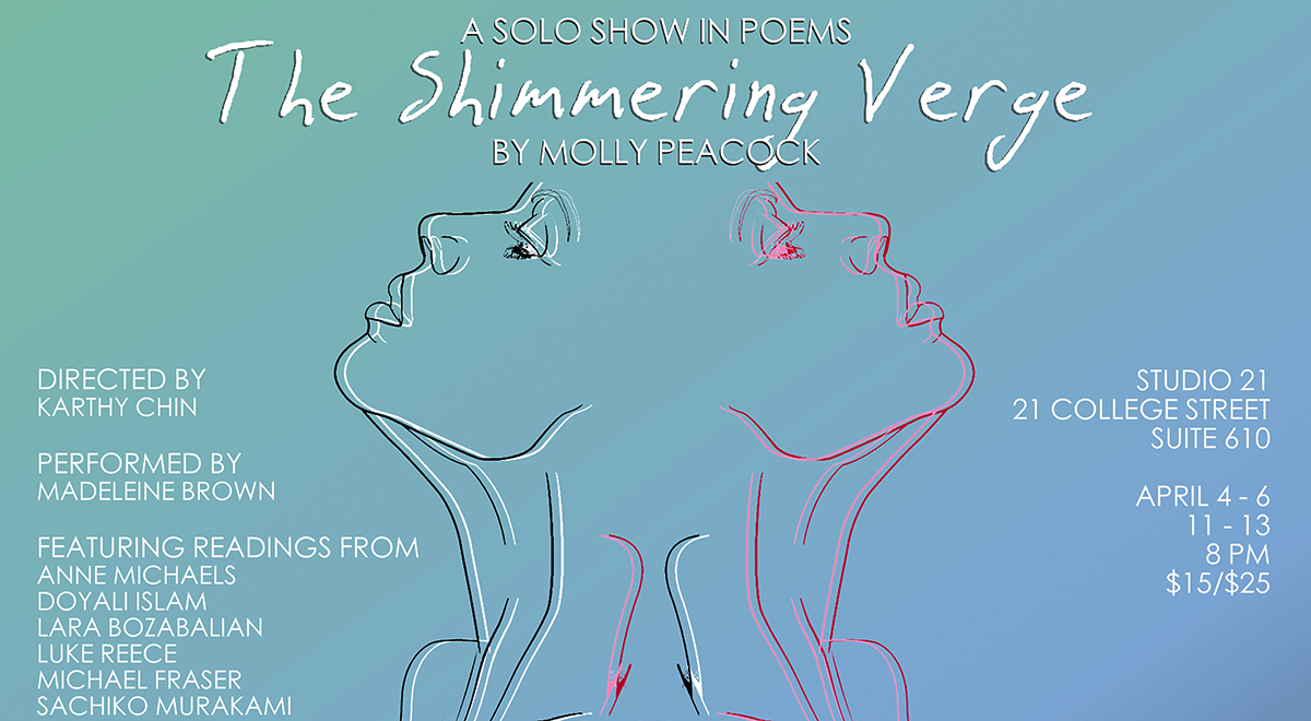 Image result for the shimmering verge molly peacock